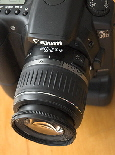 Canon 20D digital camera with 1855 lens