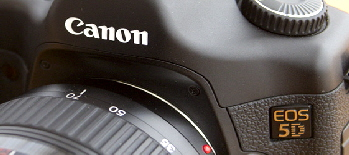 Canon EOS 5D digital camera